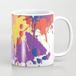 Colourful Paint splash Coffee Mug