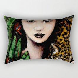 Fierce Beauty Rectangular Pillow