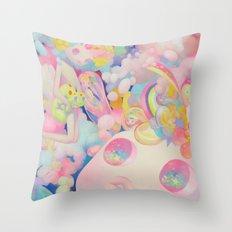 Plum Dream Throw Pillow