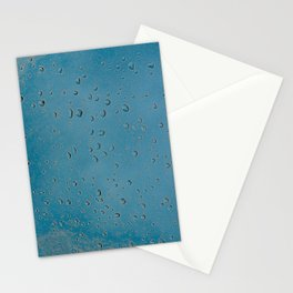 rain droplets.. Stationery Cards
