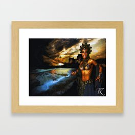 Oueen of the Old Ones Framed Art Print