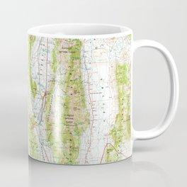 NV Ely 321672 1956 Topographic Map Coffee Mug