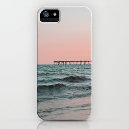 Pink Beach Shore iPhone Case