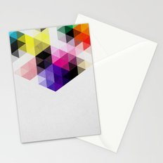 Geo Hex 01. Stationery Cards