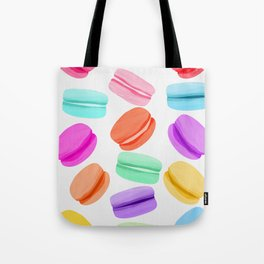 Macaron Rainbow Tote Bag