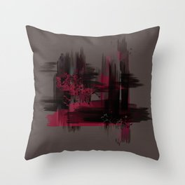 """""""Abstract Porstroke"""" Throw Pillow"""
