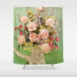Floral Fashions II Shower Curtain