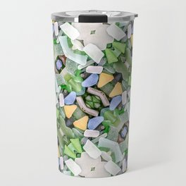 Sea Glass 14 Travel Mug