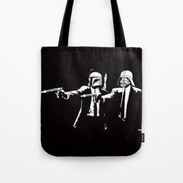 Star Pulp Fiction Tote Bag