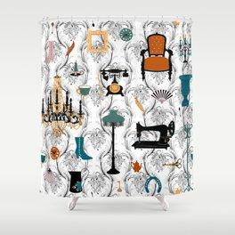 Belle Epoque Shower Curtain
