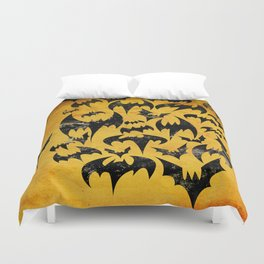 Bats in the Belfry Duvet Cover