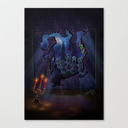 Elliots Scare by Topher Adam 2017 Canvas Print