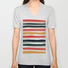Rushmore stripes Unisex V-Neck