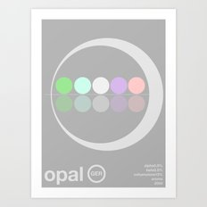 opal single hop Art Print