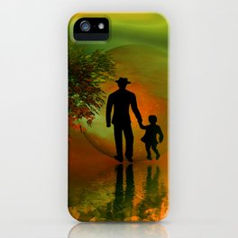 .... and I must go iPhone Case