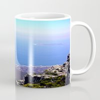 south africa Mugs featuring South Africa Impression 9 by Art-Motiva