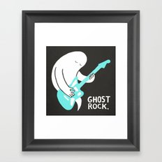 Ghost Rock Framed Art Print