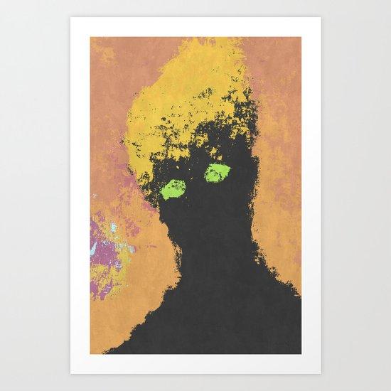 Portrait from Beyond Art Print
