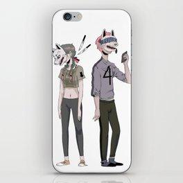 f o u r iPhone Skin
