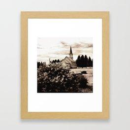 Gran Lutheran Church Framed Art Print