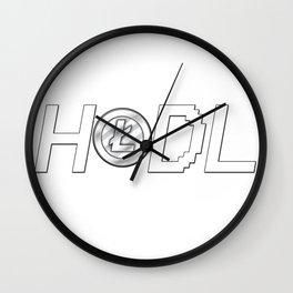 HODL LiteCoin Wall Clock