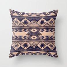 Southwest Pattern- Peach & Purple Throw Pillow