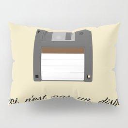 Ceci n'est pas un disque Pillow Sham