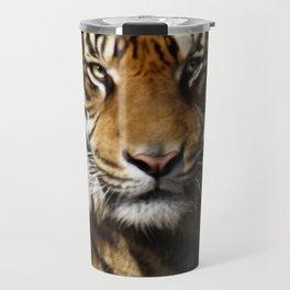 Tiger, Tiger - Big Cat Art Design Travel Mug