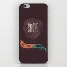 Smoke! iPhone & iPod Skin