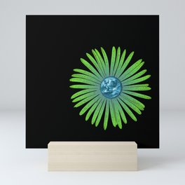 Greener practices for the Blue Planet Mini Art Print