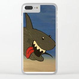 Shark Week Clear iPhone Case