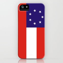 Georgia state state flag united states of america country iPhone Case