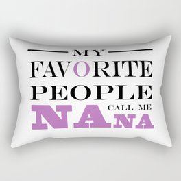 Brisco Brands My Favorite People Call Nana Rectangular Pillow
