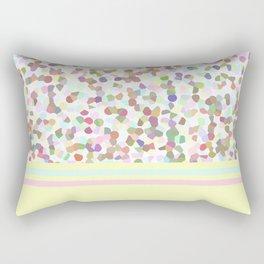 Lots of Dots Yellow Rectangular Pillow