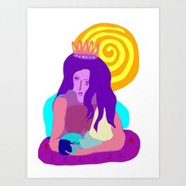 Goddess and Child Art Print