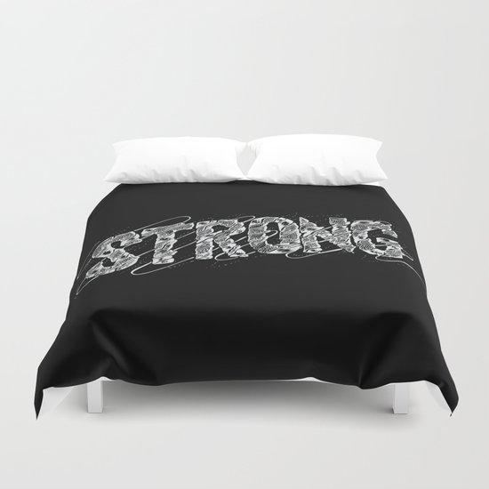 STRONG (White type) Duvet Cover