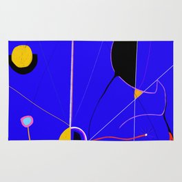 A JOAN MIRO YOU CAN ACTUALLY AFFORD (The Wound) Rug