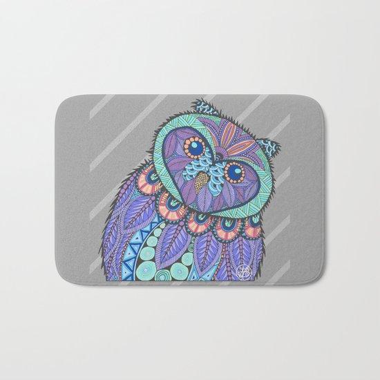 Spring Owl Bath Mat