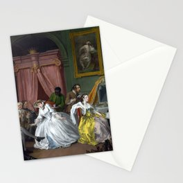 William Hogarth Marriage à-la-mode The Countess's Morning Levee Stationery Cards
