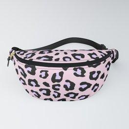 Leopard Print - Lavender Blush Fanny Pack