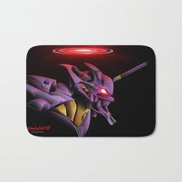 Evangelion Unit 01 - Rebuild of Evangelion 3.0 Movie Poster Bath Mat