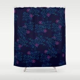 Purple Garden Shower Curtain