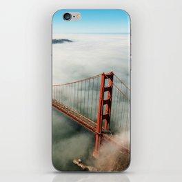 san francisco golden gate bridge iPhone Skin
