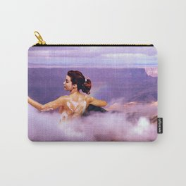 LILAC BATH BOMB Carry-All Pouch