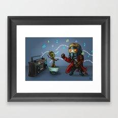 Ooga-Chaka, Ooga-Ooga Framed Art Print