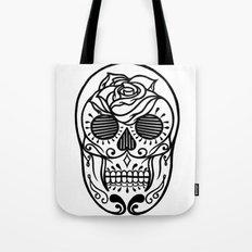 Sugar Skull Tote Bag