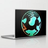 horse Laptop & iPad Skins featuring Horse by Abundance