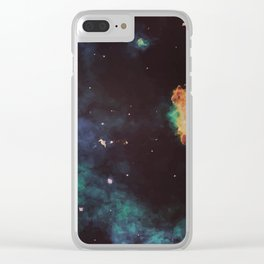 The Stuff We're All Made Of Clear iPhone Case