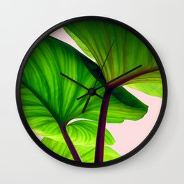 Charming Sequence Nature Art #society6 #lifestyle #decor Wall Clock