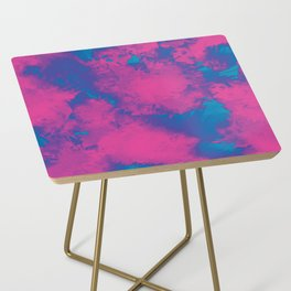 Cotton Candy Acid Trip Side Table
